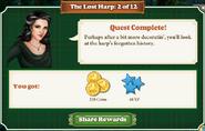 Quest The Lost Harp 2 Rewards