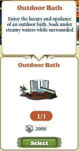 Freeitem Outdoor Bath-caption
