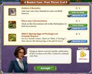 Quest A Basket Case-Part Three 2-Tasks