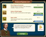 Quest Fount of Pegasus 1-Tasks