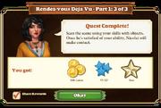 Quest Rendez-vous Deja Vu Part One 3-Rewards
