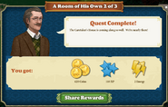 Quest A Room of His Own 2-Rewards