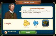 Quest Tuscan Villa-Rewards