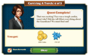 Quest Carrying A Torch 4-Rewards