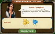 Quest A Secret Past-Part Two 4 of 8-Rewards