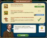 Quest Fishy Business 2-Tasks