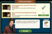 Quest Precious Cargo-Tasks