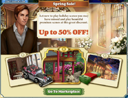 Marketplace Special Spring Sale