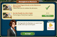 Quest Smuggled to Morocco-Tasks