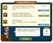 Quest Vintage Nightclub 1-Tasks
