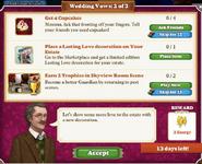 Quest Wedding Vows 2-Tasks