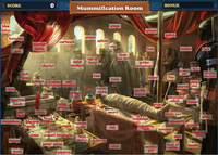 Scene Mummification Room-Map