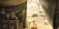 Excavator's Tent
