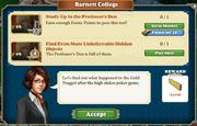 Quest Barnett College-Tasks