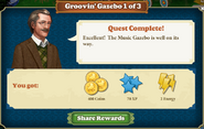 Quest Groovin'Gazebo 1-Rewards