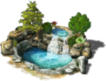 Freeitem Waterfall Pool-preview
