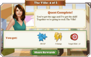 Quest The Ville 4-Rewards