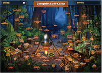 Scene Conquistador Camp-Map
