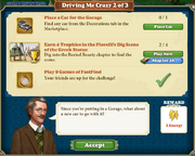 Quest Driving me Crazy 2-Tasks