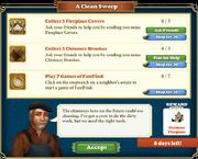 Quest A Clean Sweep-Tasks