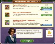 Quest A Basket Case-Part Two 2-Tasks
