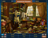 Scene Seamstress' Chamber-Map