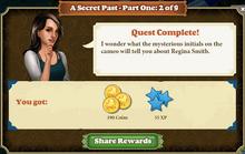 Quest A Secret Past 2-Rewards