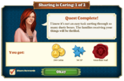 Quest Sharing is Caring 1-Rewards