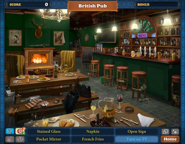 Scene British Pub-Screenshot