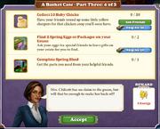 Quest A Basket Case-Part Three 4-Tasks