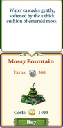 Marketplace Mossy Fountain-caption