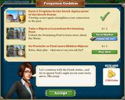 Quest Forgotten Goddess-Tasks