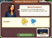 Quest Mother's Memories 5-Rewards