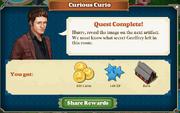 Quest Curious Curio-Rewards