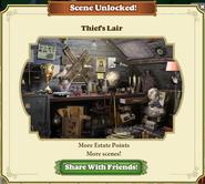 Scene Unlocked Thief's Lair