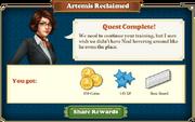 Quest Artemis Reclaimed-Rewards