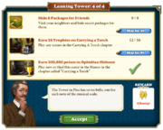 Quest Leaning Tower 4-Tasks