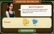 Quest A Secret Past 5-Rewards
