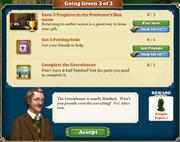 Quest Going Green 3-Tasks