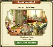 Scene Unlocked Nursery Rainbow