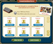Barn construction crew