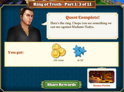 Quest Ring of Truth-Part One 3-Rewards