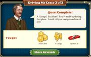 Quest Driving Me Crazy 3-Rewards