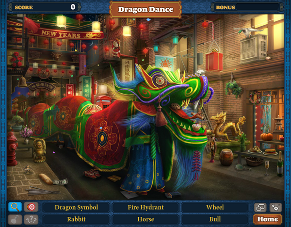 Scene Dragon Dance-Screenshot