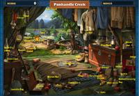 Scene Panhandle Creek-Map
