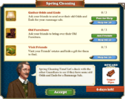 Quest Spring Cleaning-Tasks
