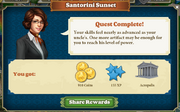 Quest Santorini Sunset-Rewards