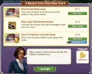 Quest A Basket Case-Part 5 of 5-Tasks