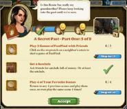 Quest A Secret Past 5-Tasks