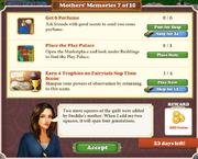 Quest Mother's Memories 7-Tasks